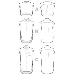Kalle Shirt/Shirtdress