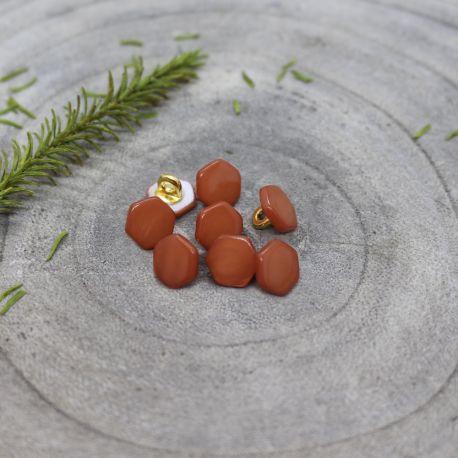 Boutons Quartz - Chestnut