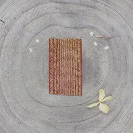 Golden rubber band  - Chestnut
