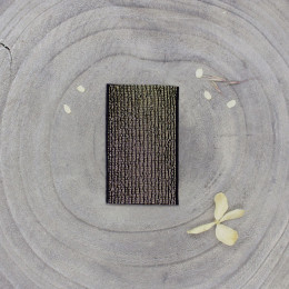 Golden rubber band  - Black