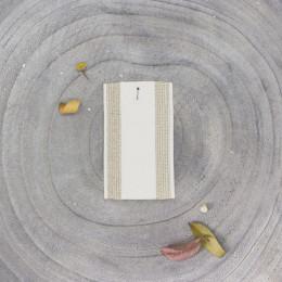 Élastique à rayures - Off-white