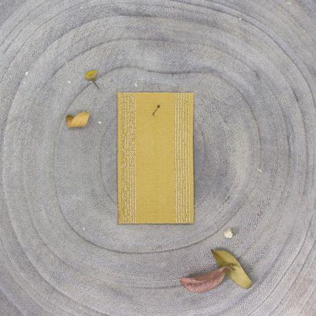 Élastique à rayures - Mustard