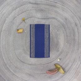 Élastique à rayures - Cobalt