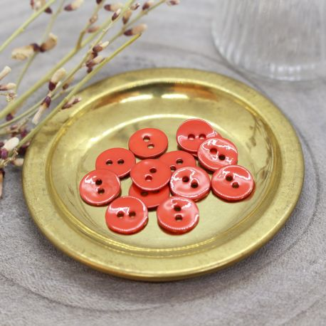 Boutons Glossy - Tangerine