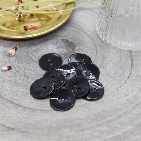 Boutons Glossy - Black