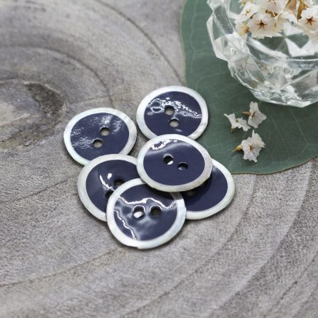 Halo Buttons - Midnight