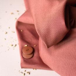 Linen Chestnut Fabric
