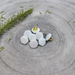 Quartz Buttons - Sage