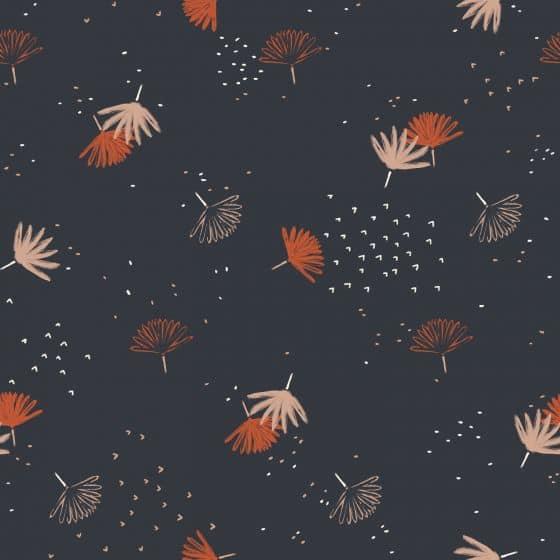 Palmetto Night Fabric