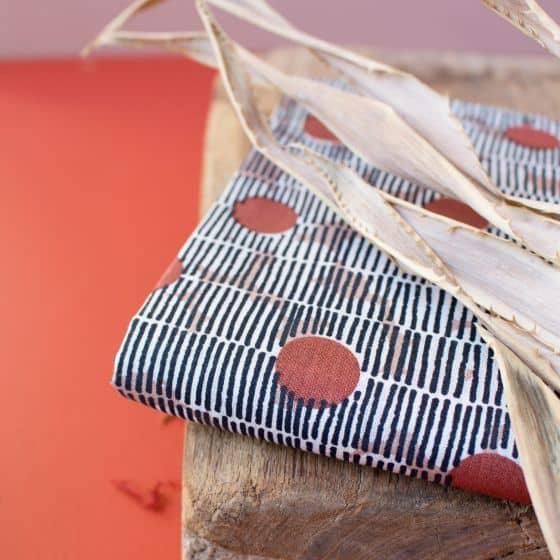 Mirage Chestnut Fabric