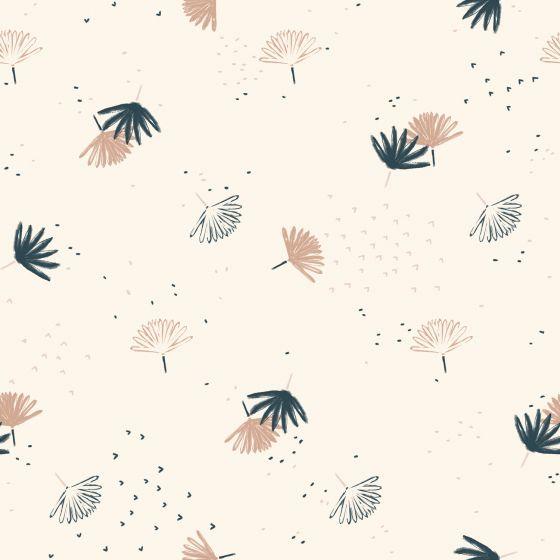 Palmetto Off-White Fabric