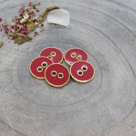 Joy Buttons - Terracotta