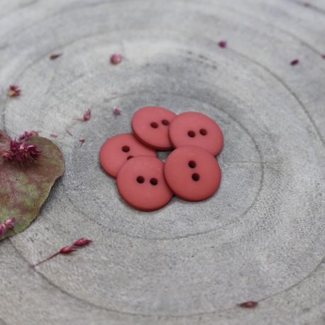 Classic Matte Buttons - Terracotta