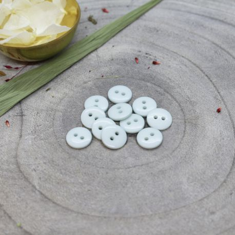 Classic Shine Buttons - Sage