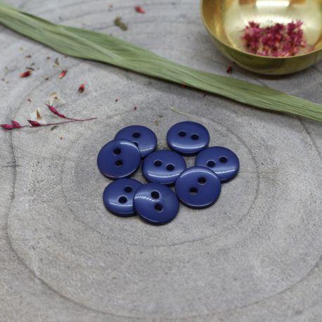 Classic Shine Buttons - Cobalt