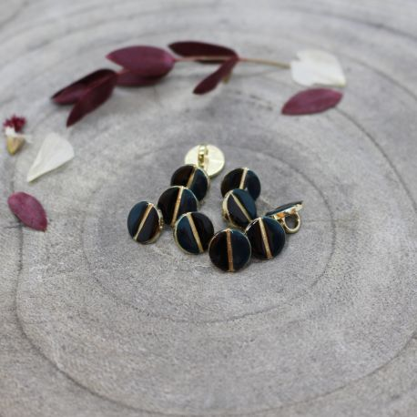 Wink Buttons Black - Forest