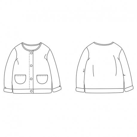 Vega newborn fleece vest 1m - 4 yo