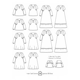 Blouse ou robe Petites Choses
