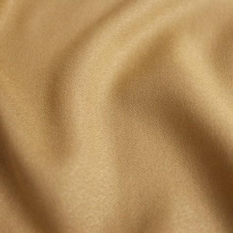 Crepe Mustard Fabric