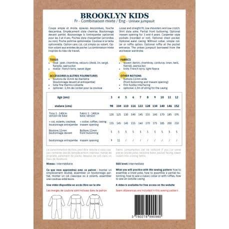 Brooklyn 3-12 ans - fourniture