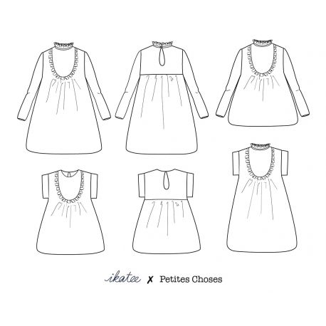 Ida blouse & dress