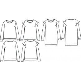 Jasmin sweater 3-12 yo