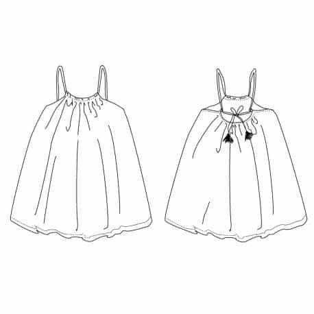 Majorque Top & Dress 3-12 yo