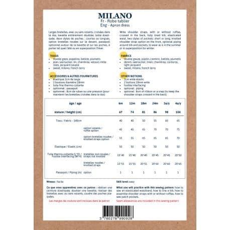 Milano 6 mois-4 ans