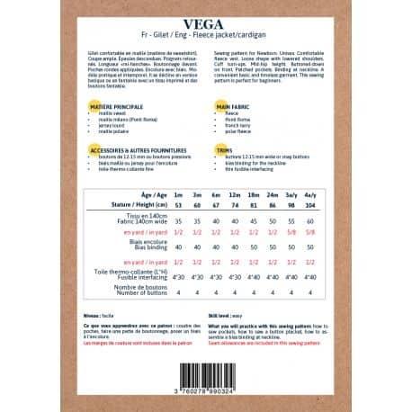 Vega 1 mois-4 ans