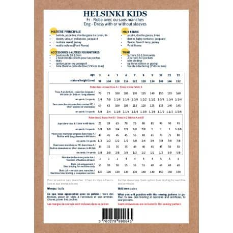 Helsinki Dress 3-12 yo