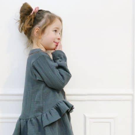 Lilas Blouse & Dress 3-12 yo