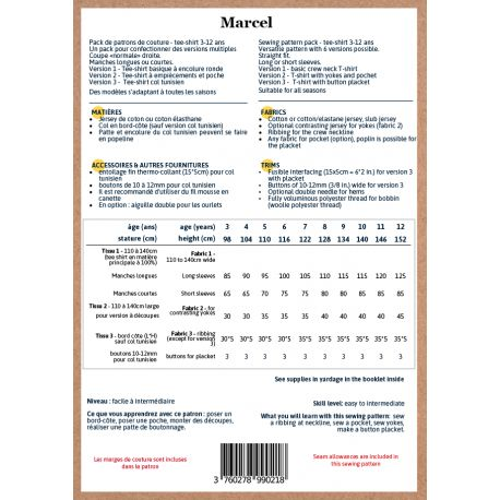 Marcel 3-12 ans