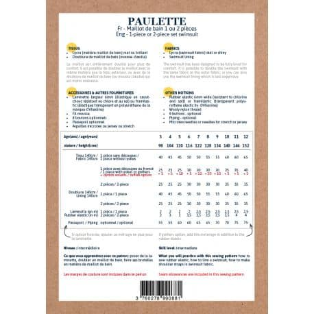 Paulette Swimsuit 3-12 yo