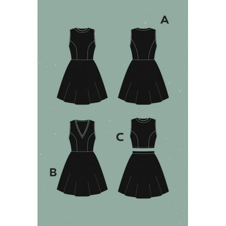 Zephyr Dress pattern