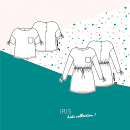 Iris kids Top & Dress